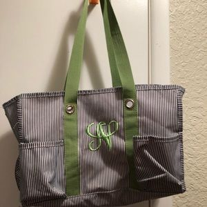 Monogrammed Thirty-One bag